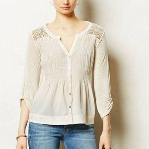 <anthropologie> meadow rue eiley blouse